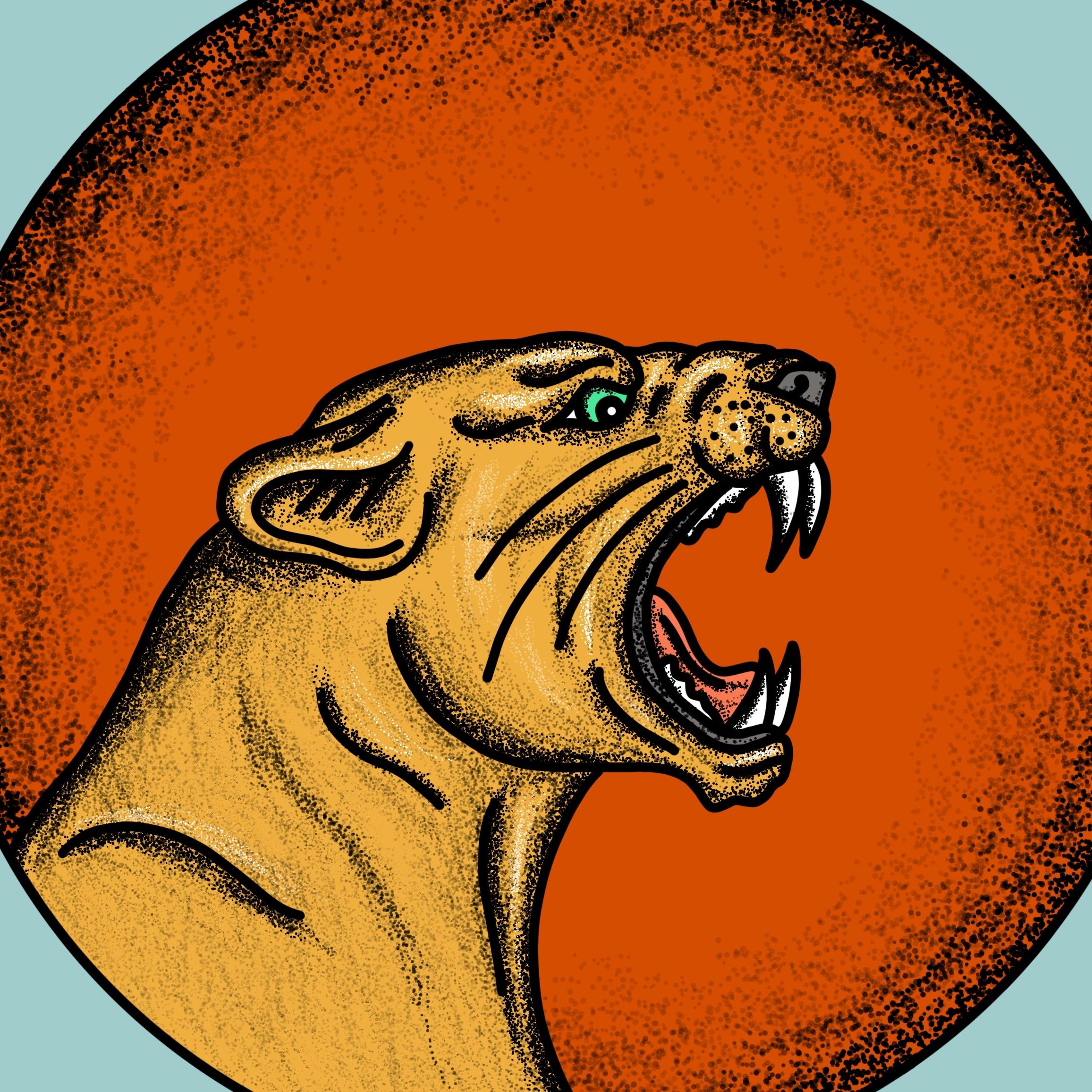CIRCUS CAT   PRINT DESIGN