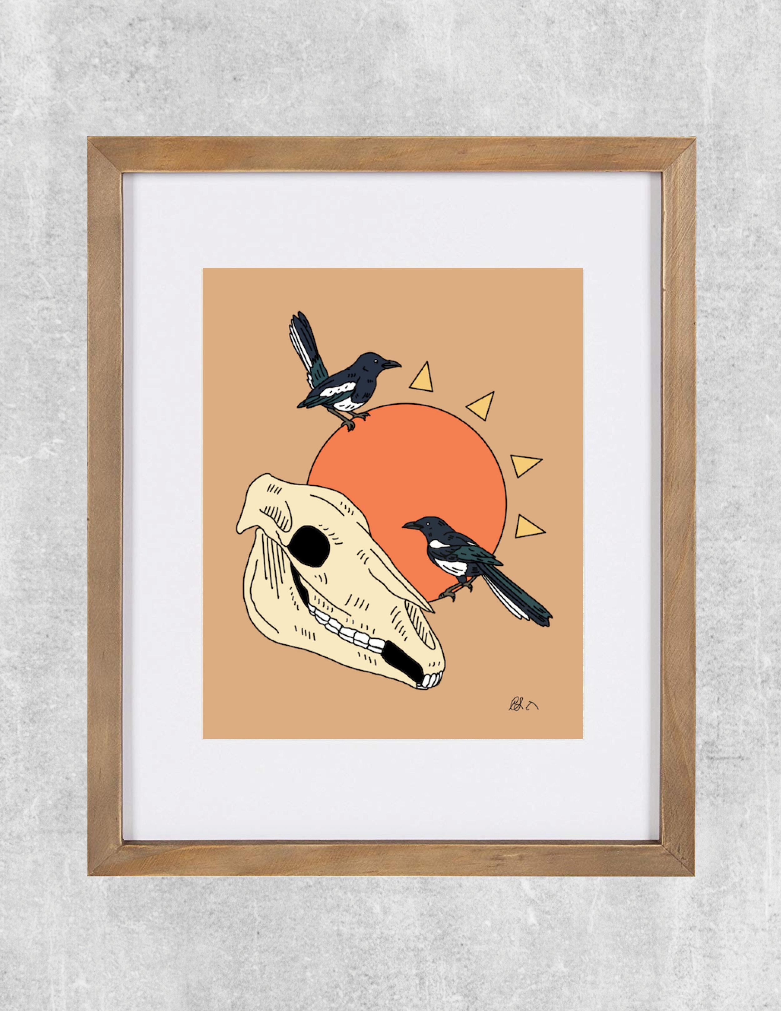 magpie framed.jpg