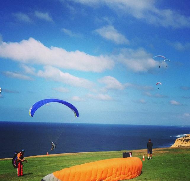 Paraglide La Jolla (Or Just Watch)