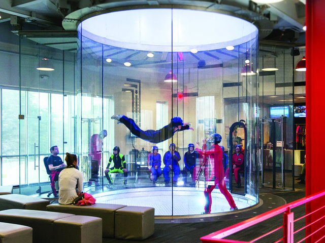 Indoor Sky Diving at IFLY