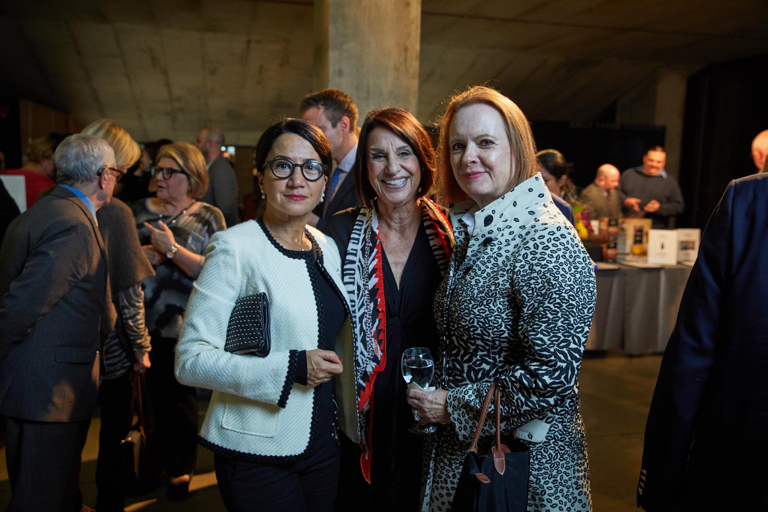 Soheila Vojoudi, Dorothy Fieldman Fraiberg, Birgitte Scheel.jpg