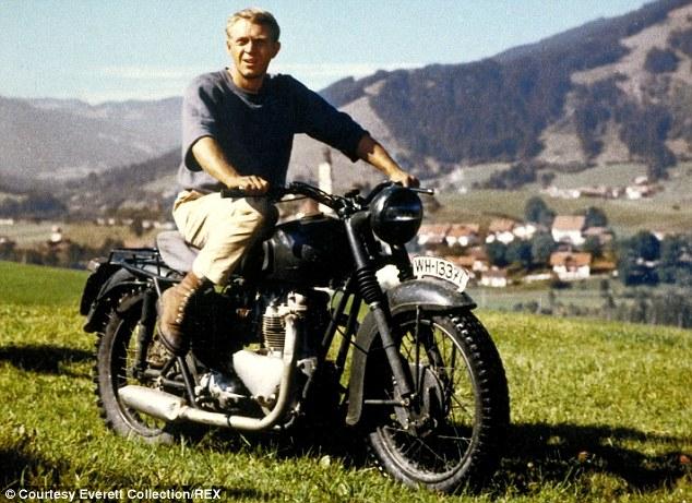 Steve McQueen in the classic The Great Escape (1963)