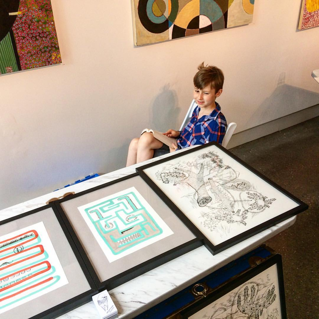 Quirk Gallery Pop Up