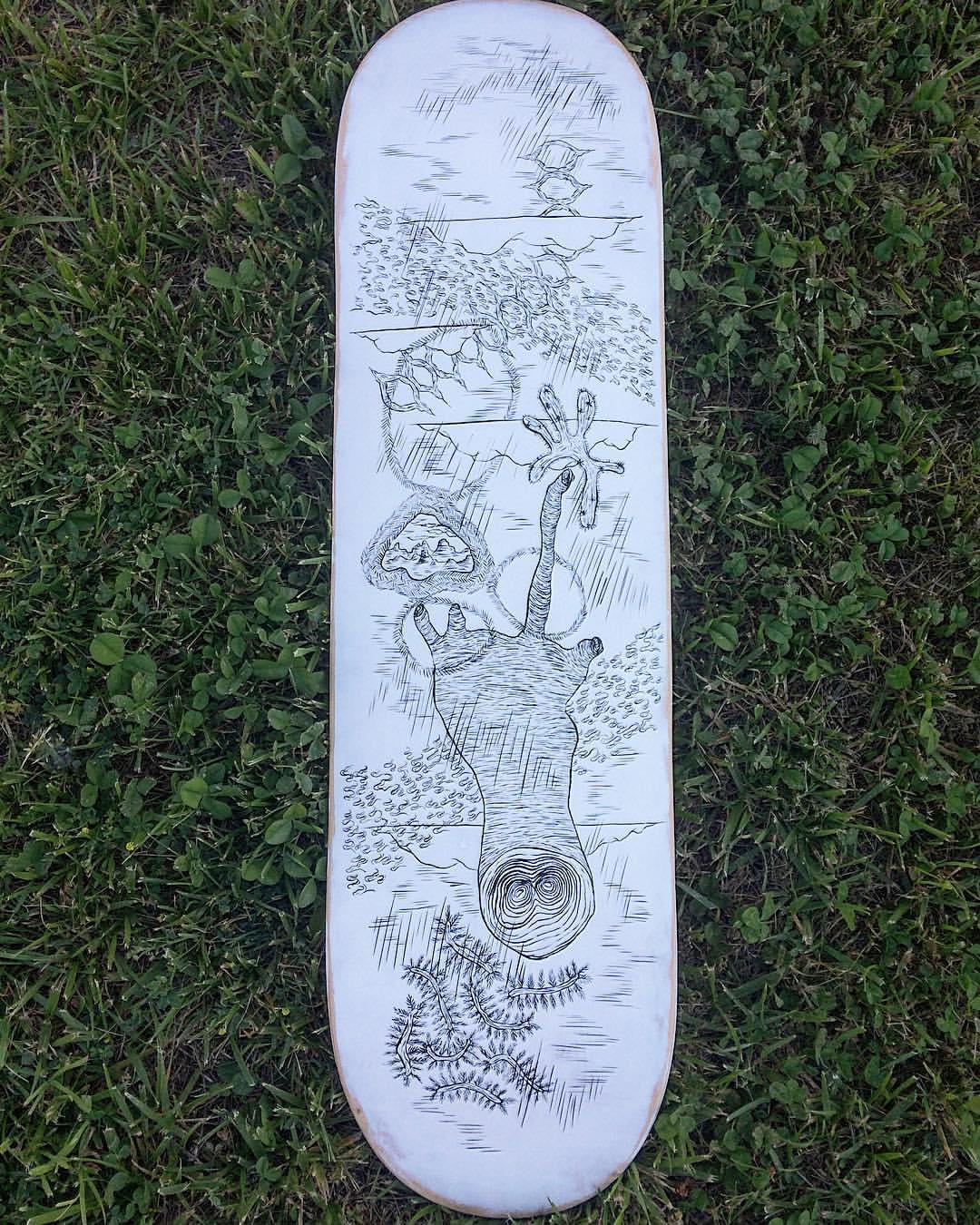 Skateboard for RASA