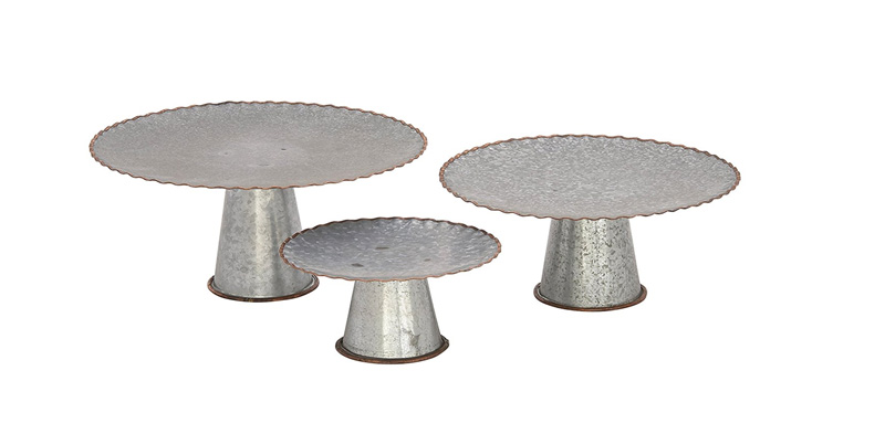 Set of 3 Galvanized Cake Plates (ruffled edging).jpg