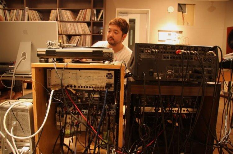 Seba Jun in his studio