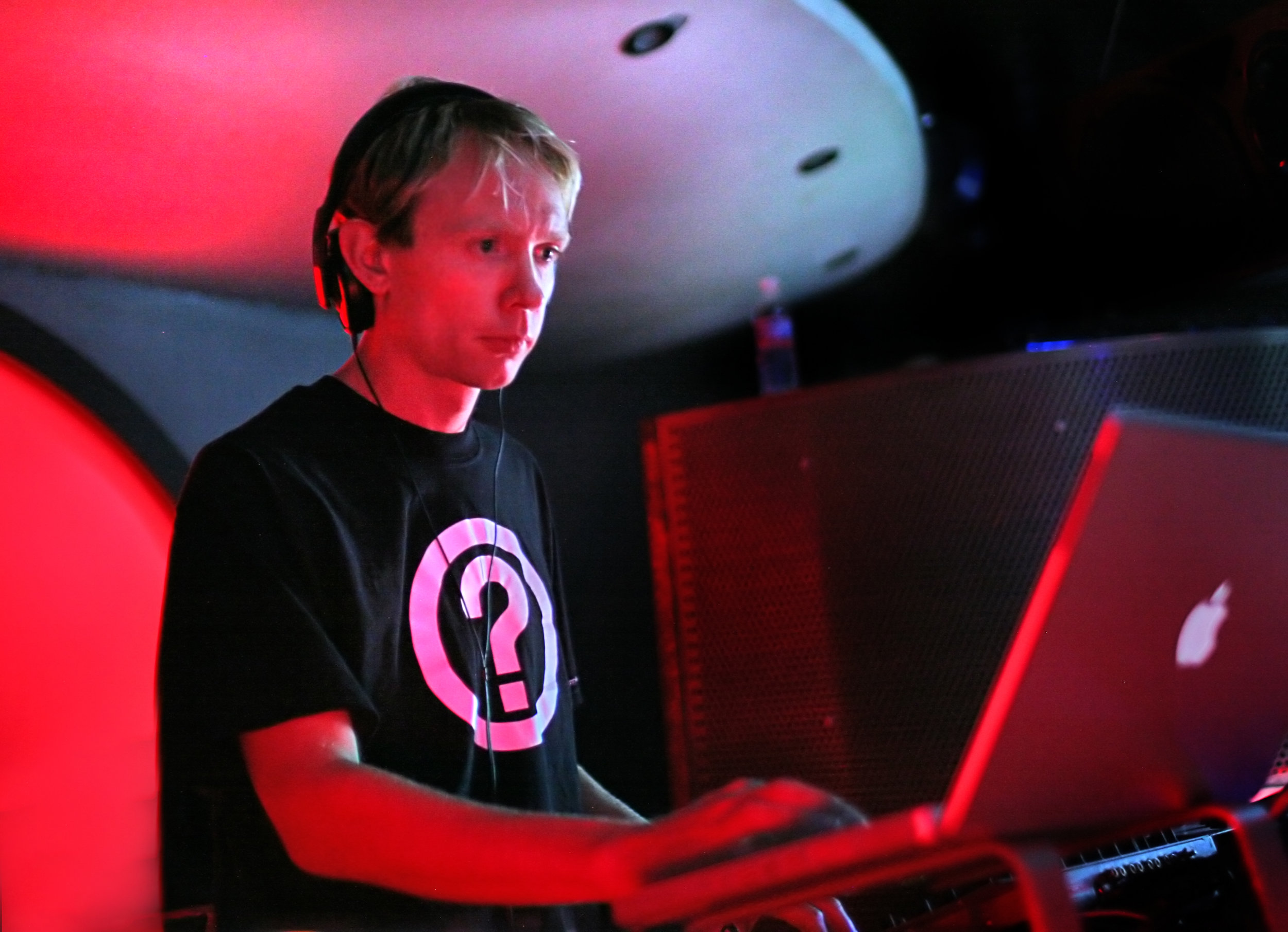 """Tipper performing in 2009. According to Benji Hannus of Wormhole Music Group, Tipper performed unannounced at Rain Dance Campout in 2010. """"He just showed up at the gate, said hi to all his friends, and played a Sunday set."""" ( Credit: Kyle Hailey)"""