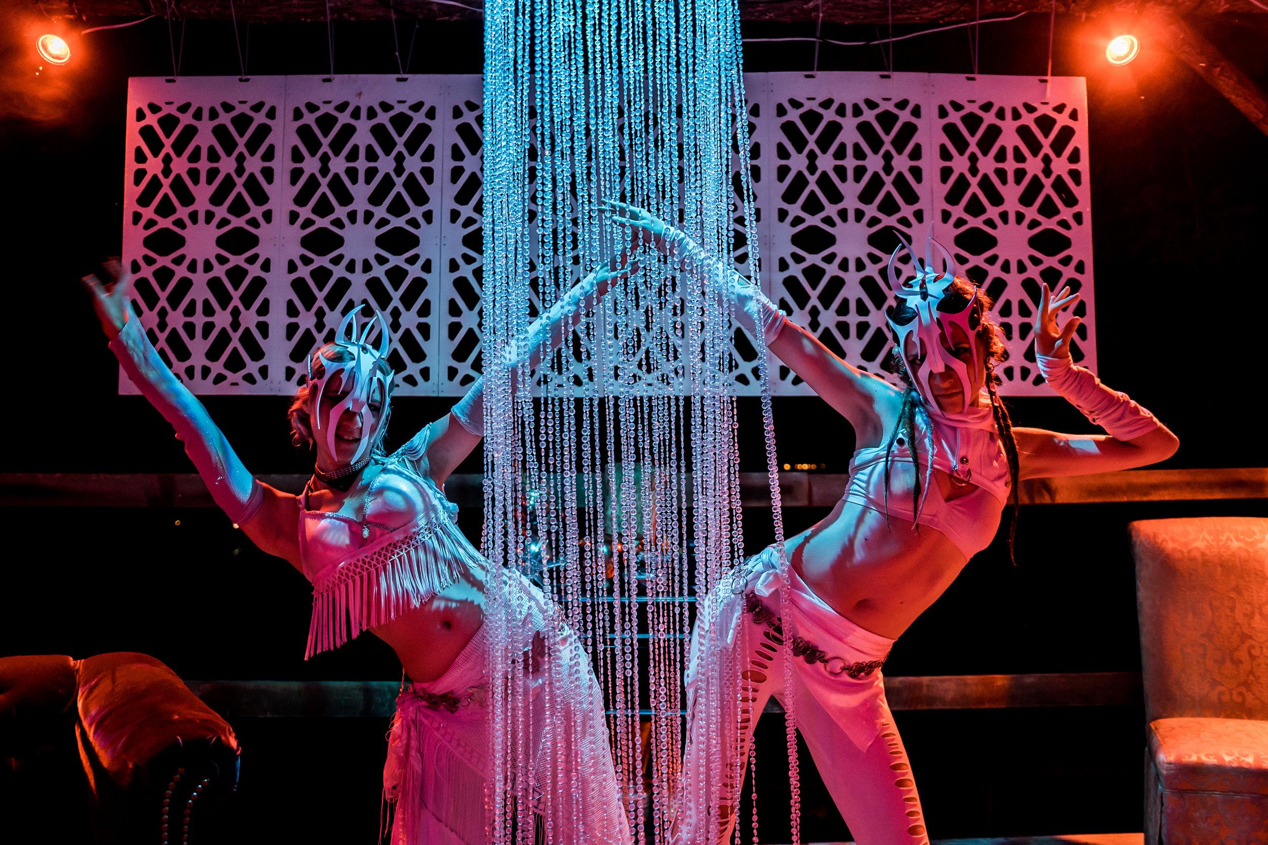 GNOSTiK performers at the Lounge.  (Credit:   GNOSTiK  )