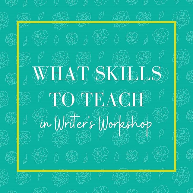 How do you decide what skills to teach in Writer's Workshop? ⠀⠀⠀⠀⠀⠀⠀⠀⠀ Here are 3 simple questions to ask yourself when deciding what skills are essential for student writers: ⠀⠀⠀⠀⠀⠀⠀⠀⠀ 1) What routines do we need in our learning community to create a safe space where writers can be creative? ⠀⠀⠀⠀⠀⠀⠀⠀⠀ 2) What craft strategies and editorial techniques will students need to know to create a piece in a particular genre? ⠀⠀⠀⠀⠀⠀⠀⠀⠀ 3) What general habits do writers have that help them to move from idea to proud piece? ⠀⠀⠀⠀⠀⠀⠀⠀⠀ Did any of these questions spark an idea for a lesson? Share it below.👇🏽