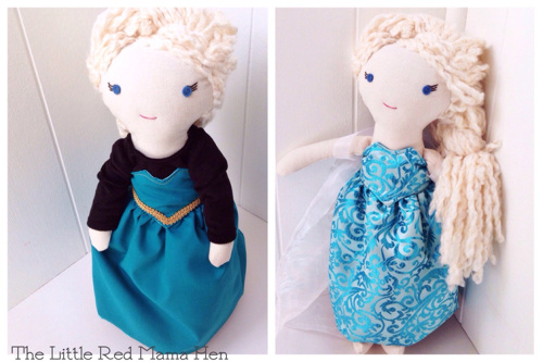 Frozen Inspired Elsa Cloth Doll   My daughter and I absolutely love this little Elsa doll. As soon as we showed my daughter her eyes just lit up! The doll is so snuggly soft and well crafted. Excellent customer service!! Reviewed by Jessica D June 1, 2014