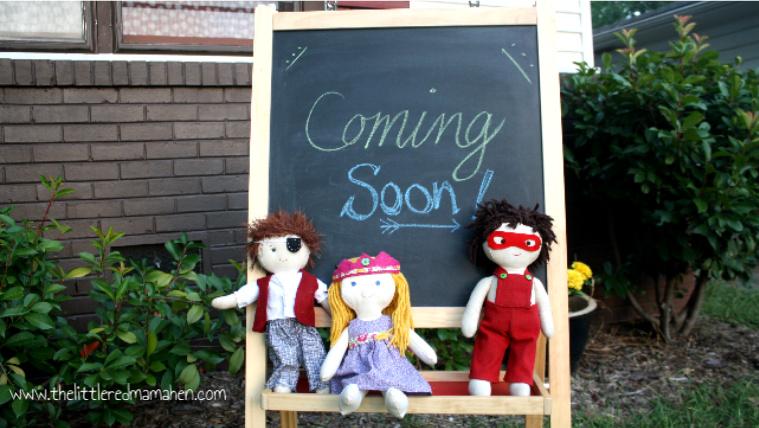 cloth doll coming soon