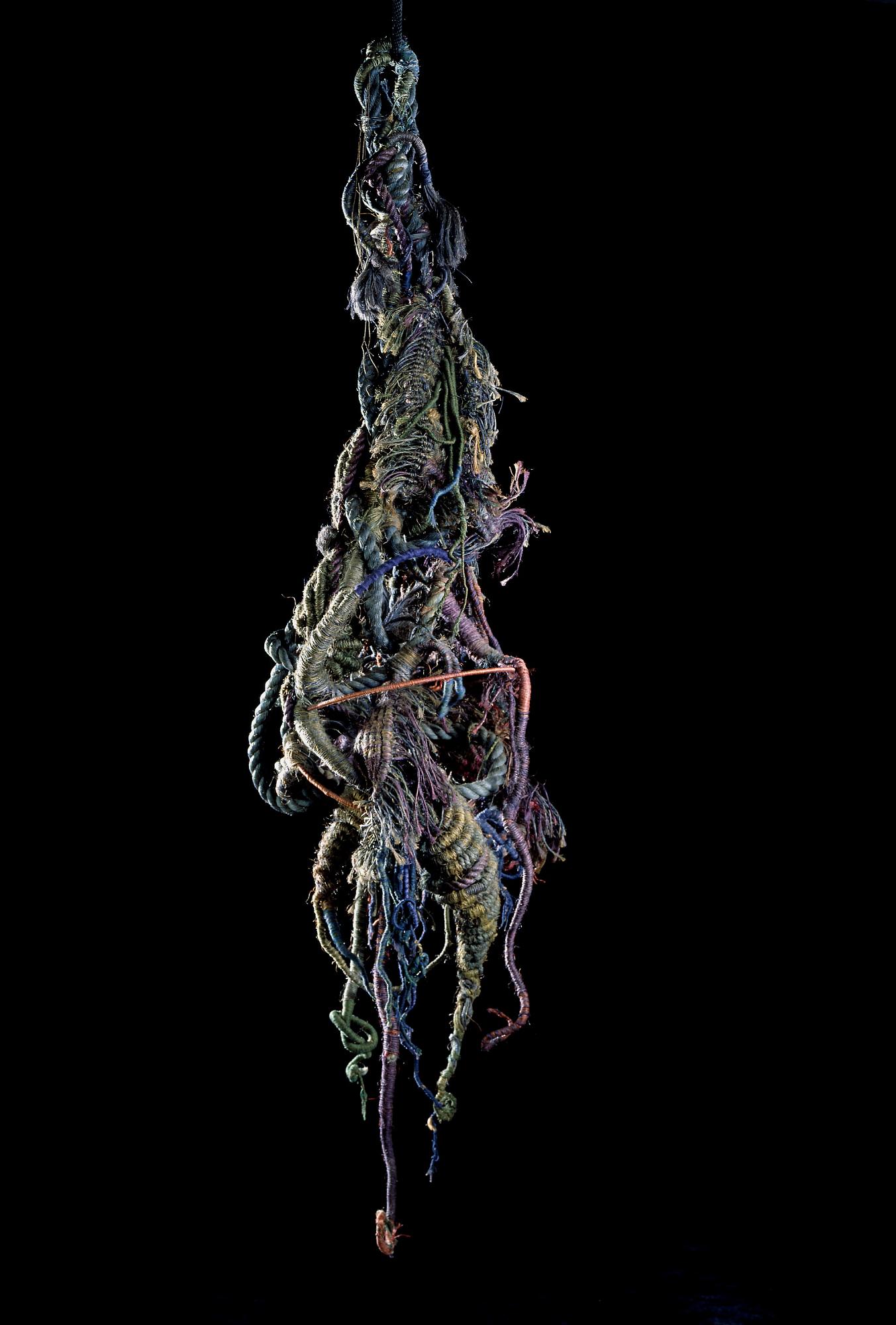Neda Alhilali, Medusa, 1975, mixed fibers, Smithsonian American Art Museum, Gift of Phyllis Mael, 2002.