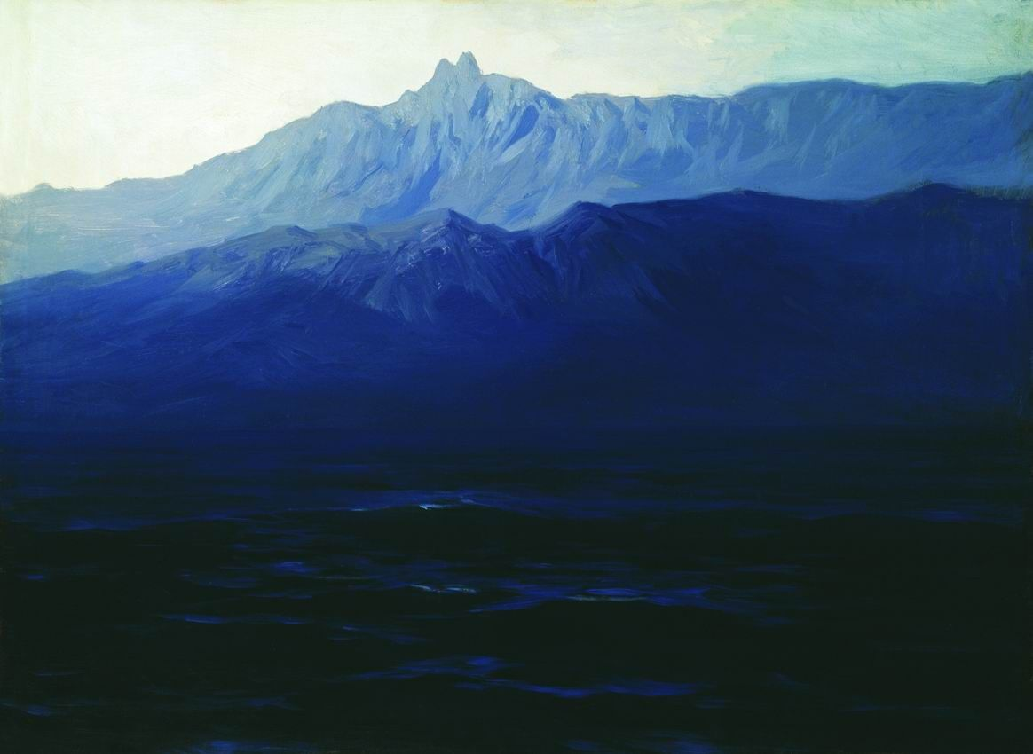 Arkhip Ivanovich Kuindzhi, Ai-Petri, Crimea, 1908. Image courtesy of The State Russian Museum.