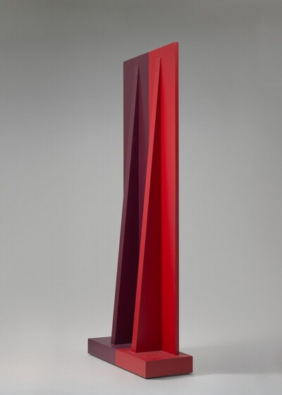 Anne Truitt, Insurrection, 1962, acrylic on wood, National Gallery of Art, Washington, Corcoran Collection (Gift of Mr. and Mrs. Phillip Stern).