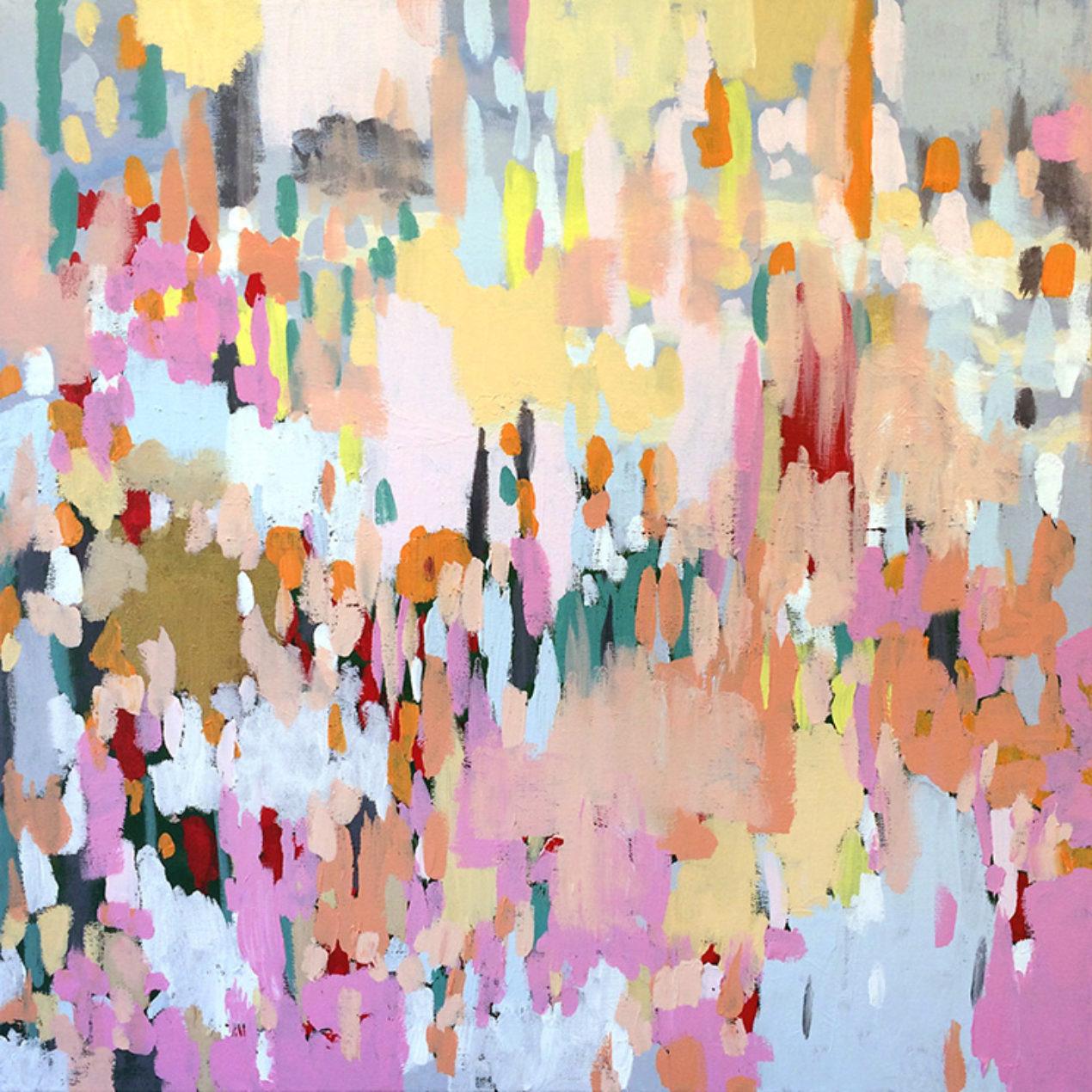 Darcy Briks, No. 7, 2012-15. Acrylic on canvas.