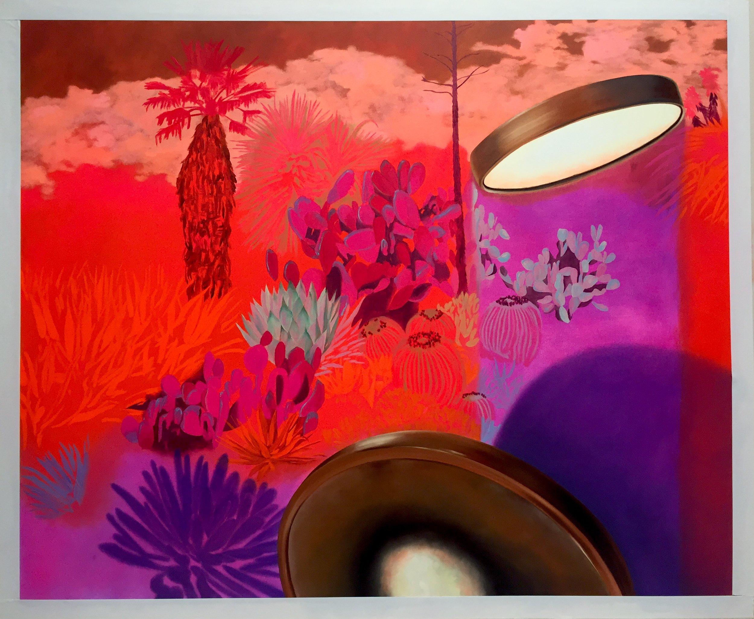 "Kelsey Shwetz, Infrared, Oil on Canvas, 50""x62"", 2019"