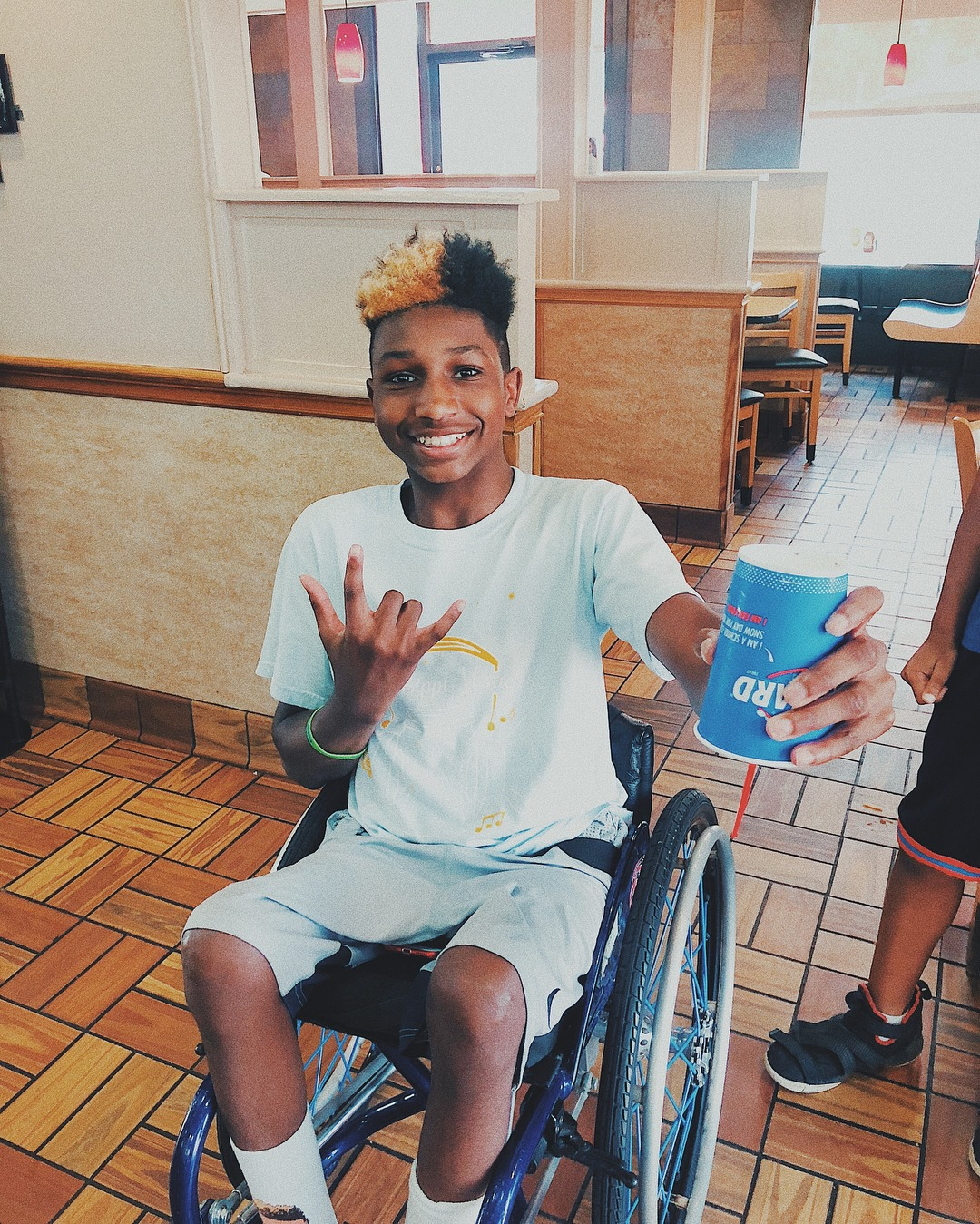 K.J. Fields at Dairy Queen's annual Miracle Treat Day