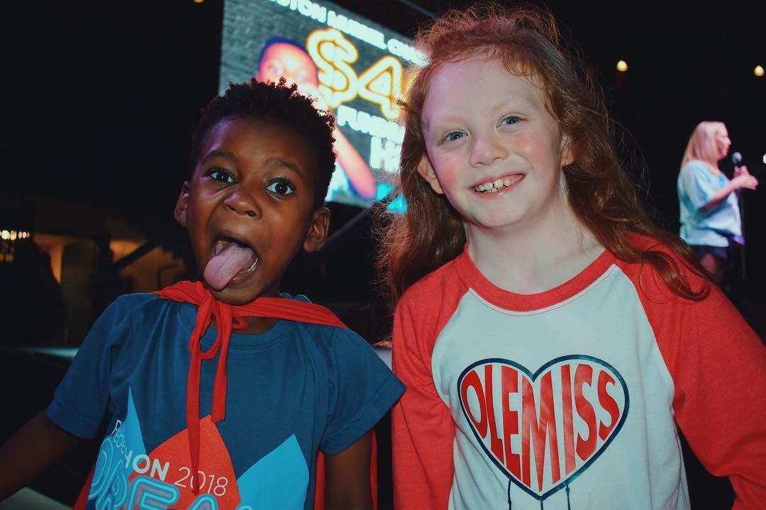 Avery Bell & Kingston Murriel at RebelTHON Dance Marathon in 2019