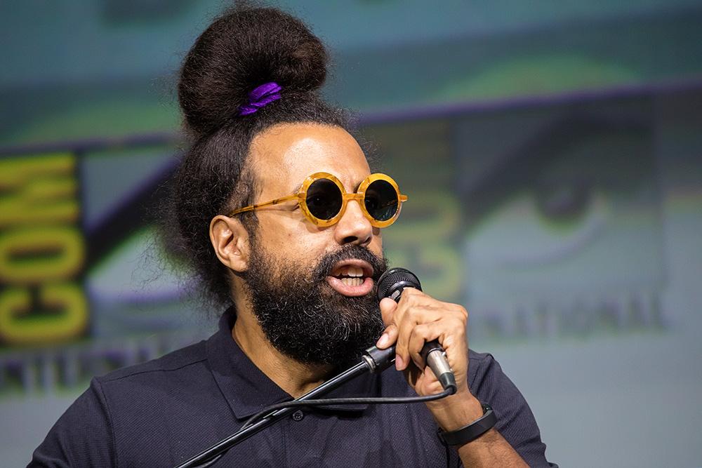 Moderator Reggie Watts