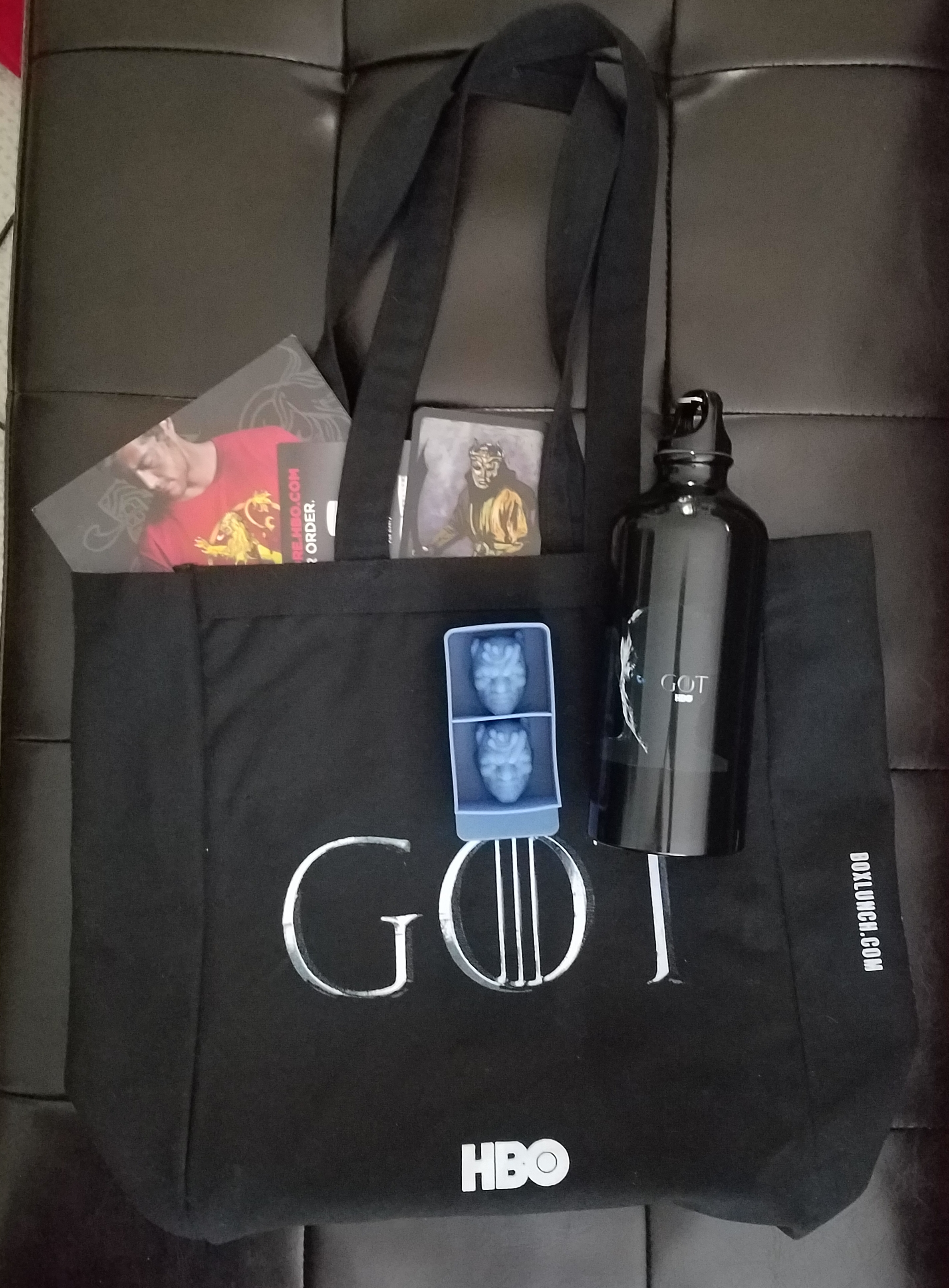 John A - SDCC 2017 Hall H Game of Thrones Bag