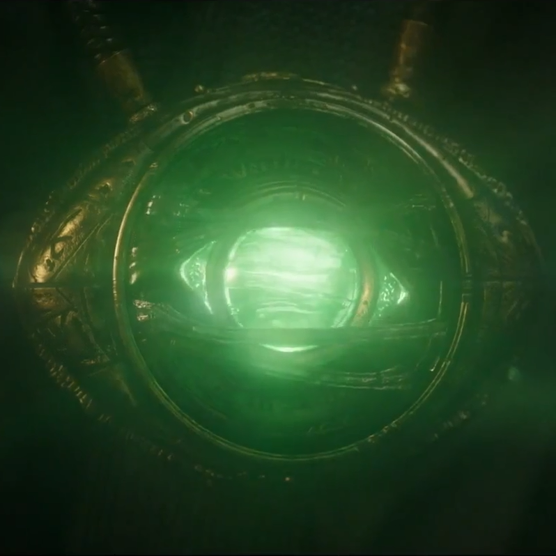 The Time Stone - a.k.a. The Eye of AgamottoCurrent Location: Sanctum Sanctorum and/or around Doctor Strange's neck
