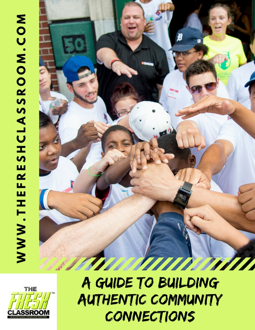 This guide was created to help teachers plan and organize community engagement activities to connect with the classroom.