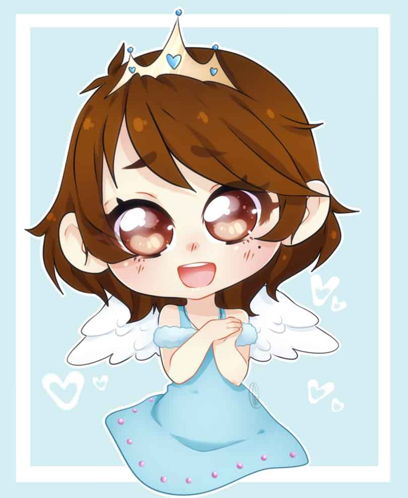 About the Princess - The Princess is known as a young woman who obtains the power to heal others through love. She channels into her inner thoughts to release glowing blue hearts that are formed to heal the brokenhearted, the weak, and the lonely. Her main goal is to love, inspire, and encourage others. Art by @SpyrixNya