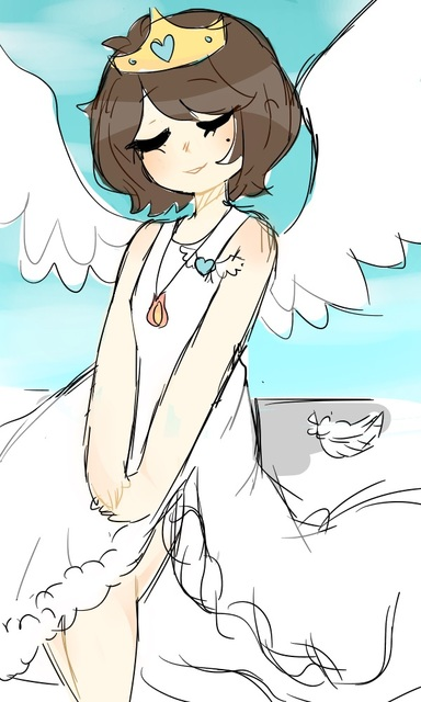 Another cute artwork! They goes by SmolZombie on GaiaOnline, but here's a  link  to their artworks!