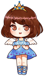This little chibi artwork is made by  Icee-tan .