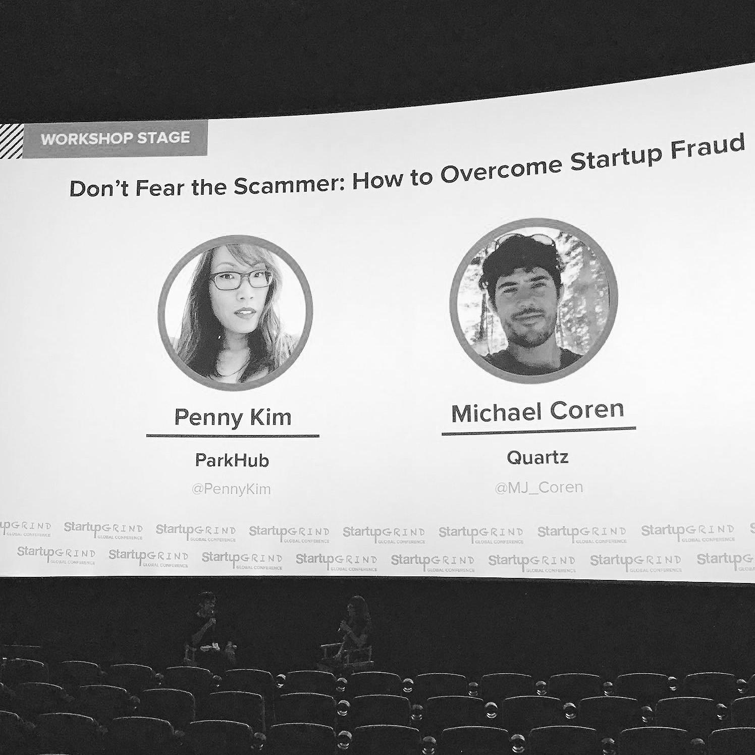 Guest Speaker at Startup Grind Global Conference 2017