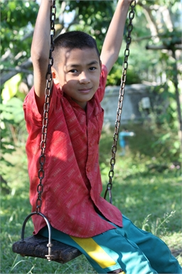 Watthana   Watthana loves life. He loves playing games and just hanging out. He enjoys playing soccer and other active outdoor games.