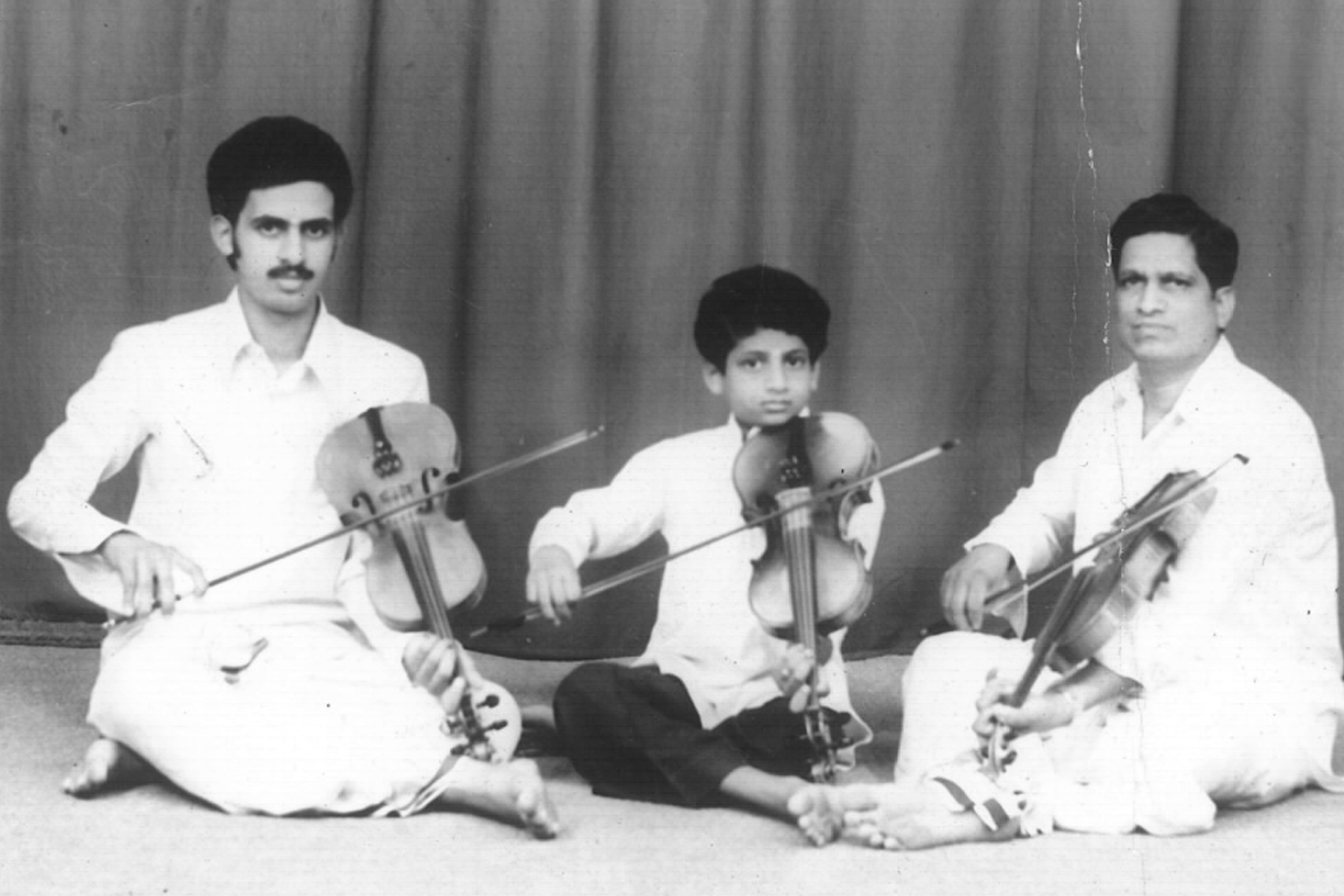 Carnatic Violin - The violin is one of the most versatile instruments in the world and was introduced to India around the 18th century by European colonialists. Baluswami Dikshitar is credited as the first musician to experiment adapting Carnatic Classical techniques and repertoire on the violin. The violin's uncanny ability to emulate the human voice naturally lent itself to becoming the instrument of choice for accompaniment in all Carnatic Classical music concerts. It subsequently developed as a popular solo instrument in Carnatic music. In the hands of great Carnatic musicians, the scope of violin's capability has grown considerably.