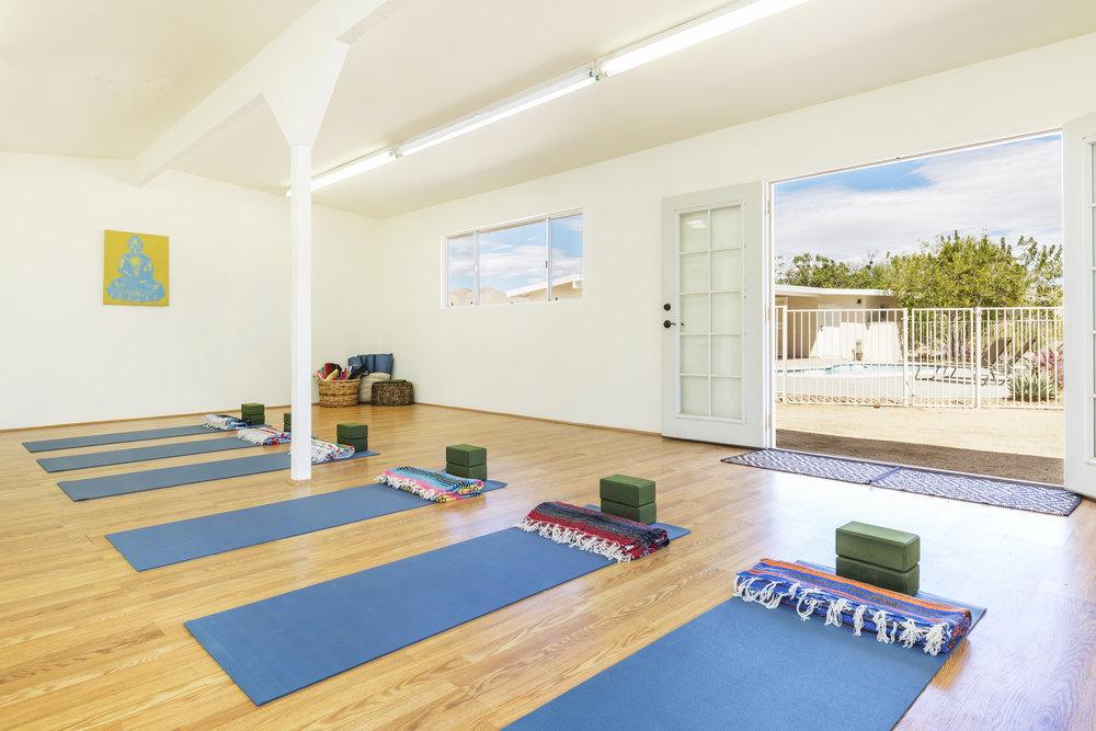 Joshua Tree Private Yoga Studio