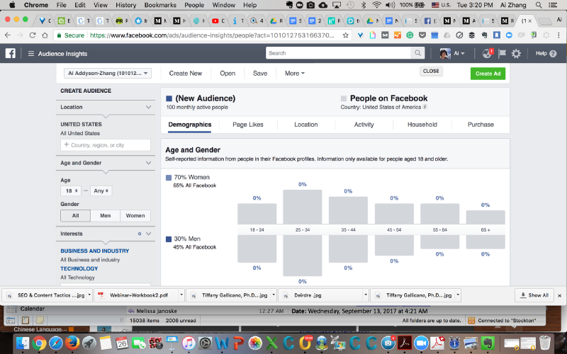 Facebook Audience Insights (image 1)