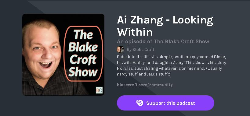 (An episode of The Blake Croft Show)