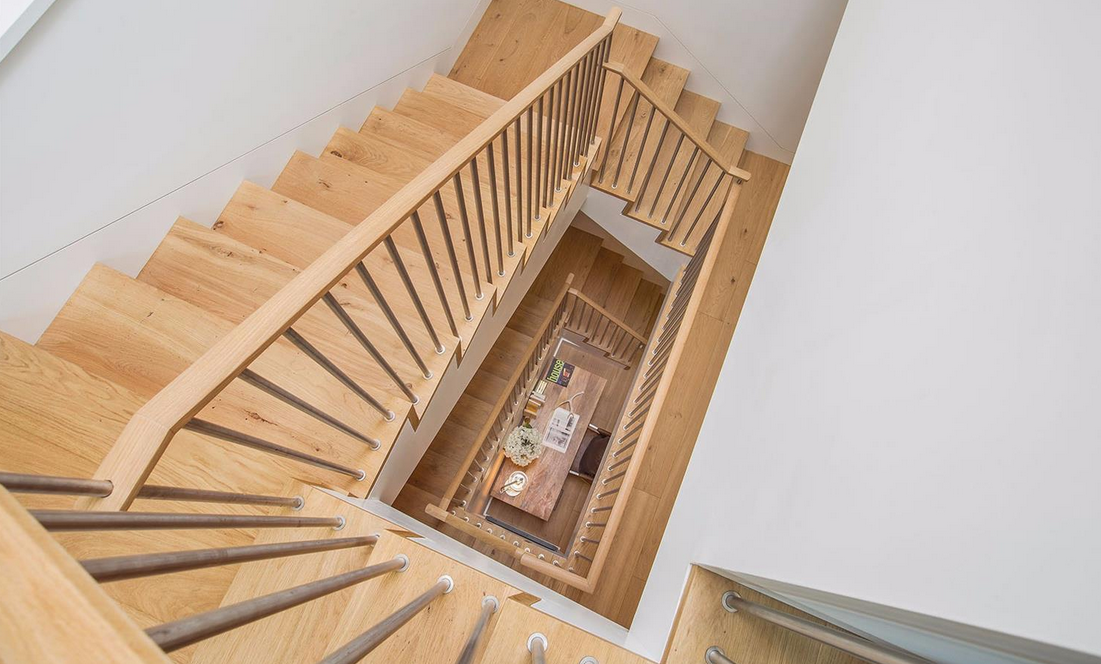 1338 Filbert Street - staircase