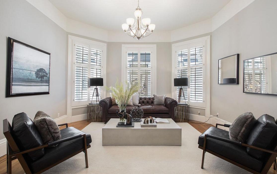 2169 Green Street #2 - living room