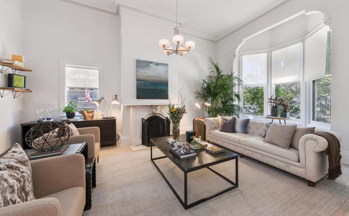 1480 Golden Gate Avenue - living room