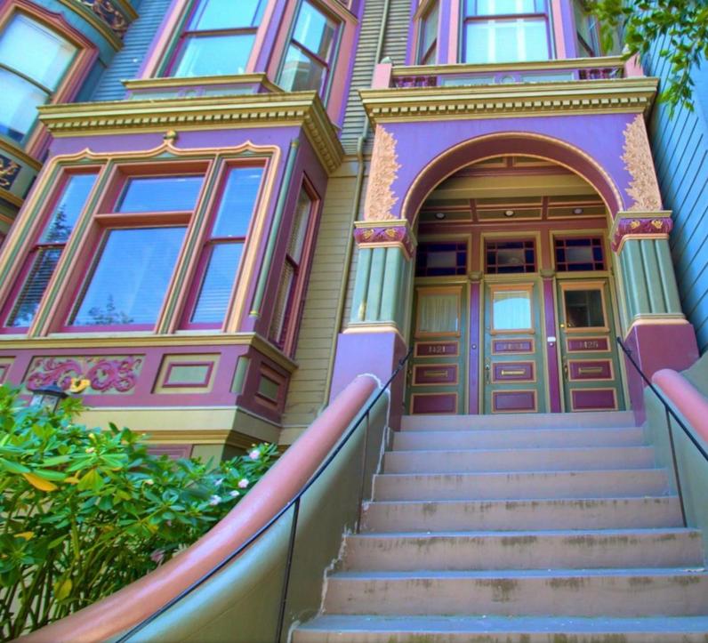 1423 Golden Gate Avenue - entry