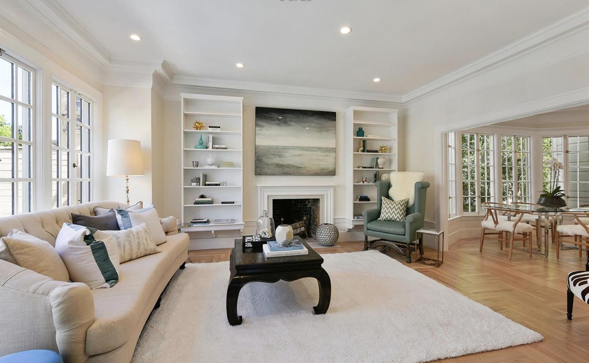 3103 Clay Street - Living Room
