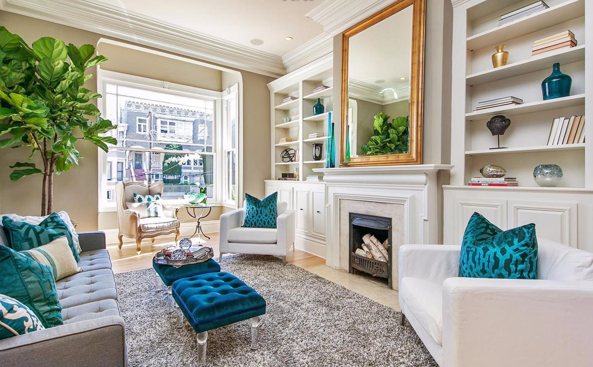 2521 Octavia Street - Living Room