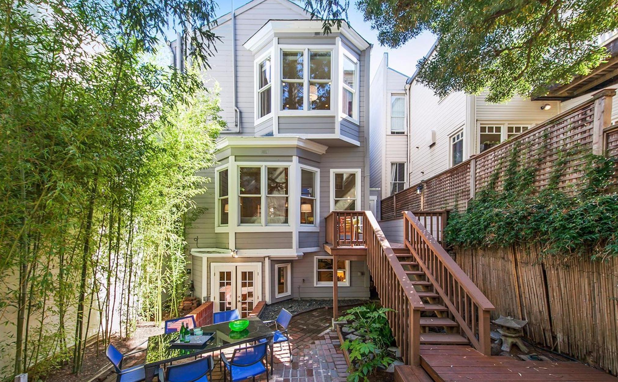 2521 Octavia Street - Backyard