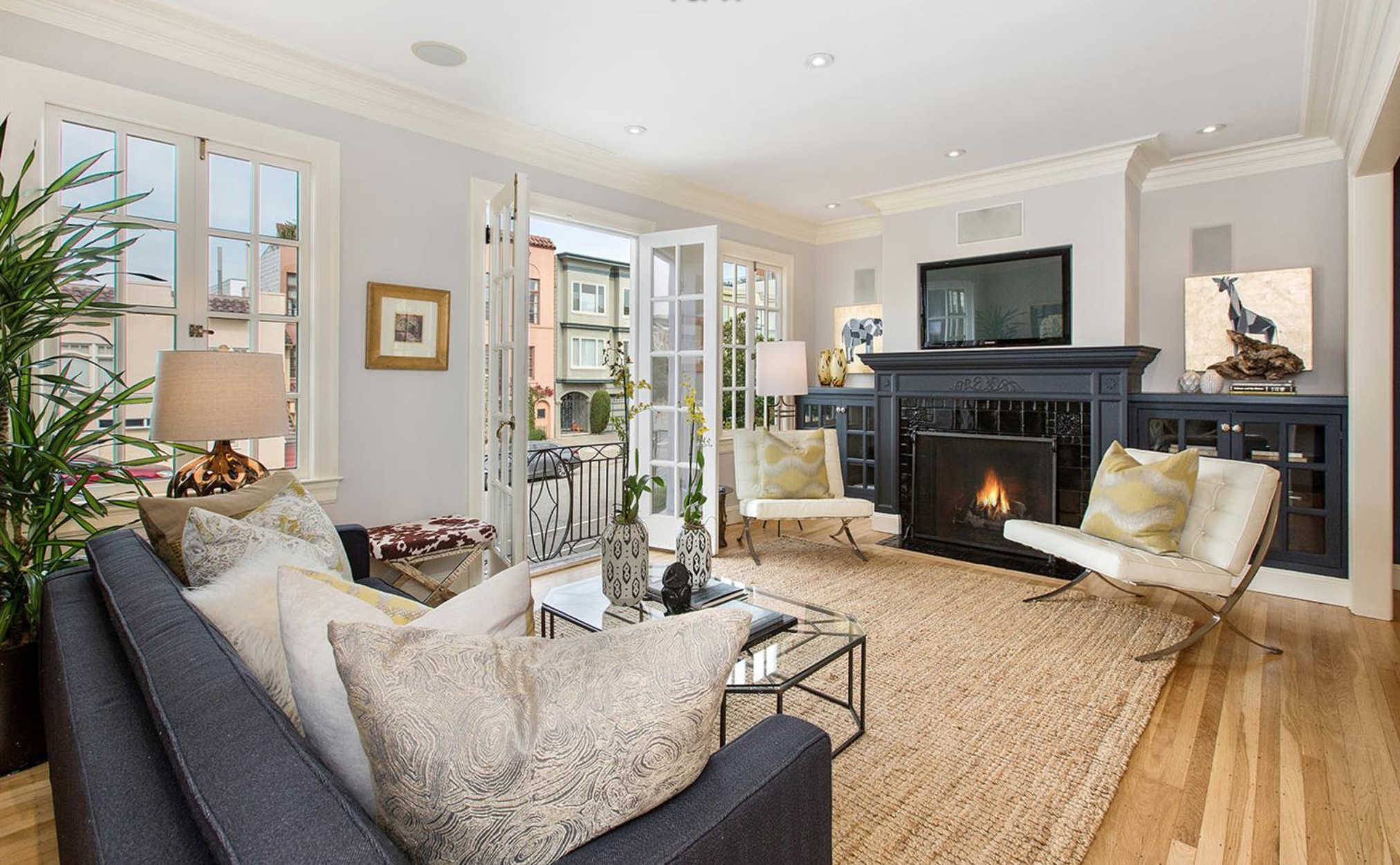 1361 Francisco Street - Living Room