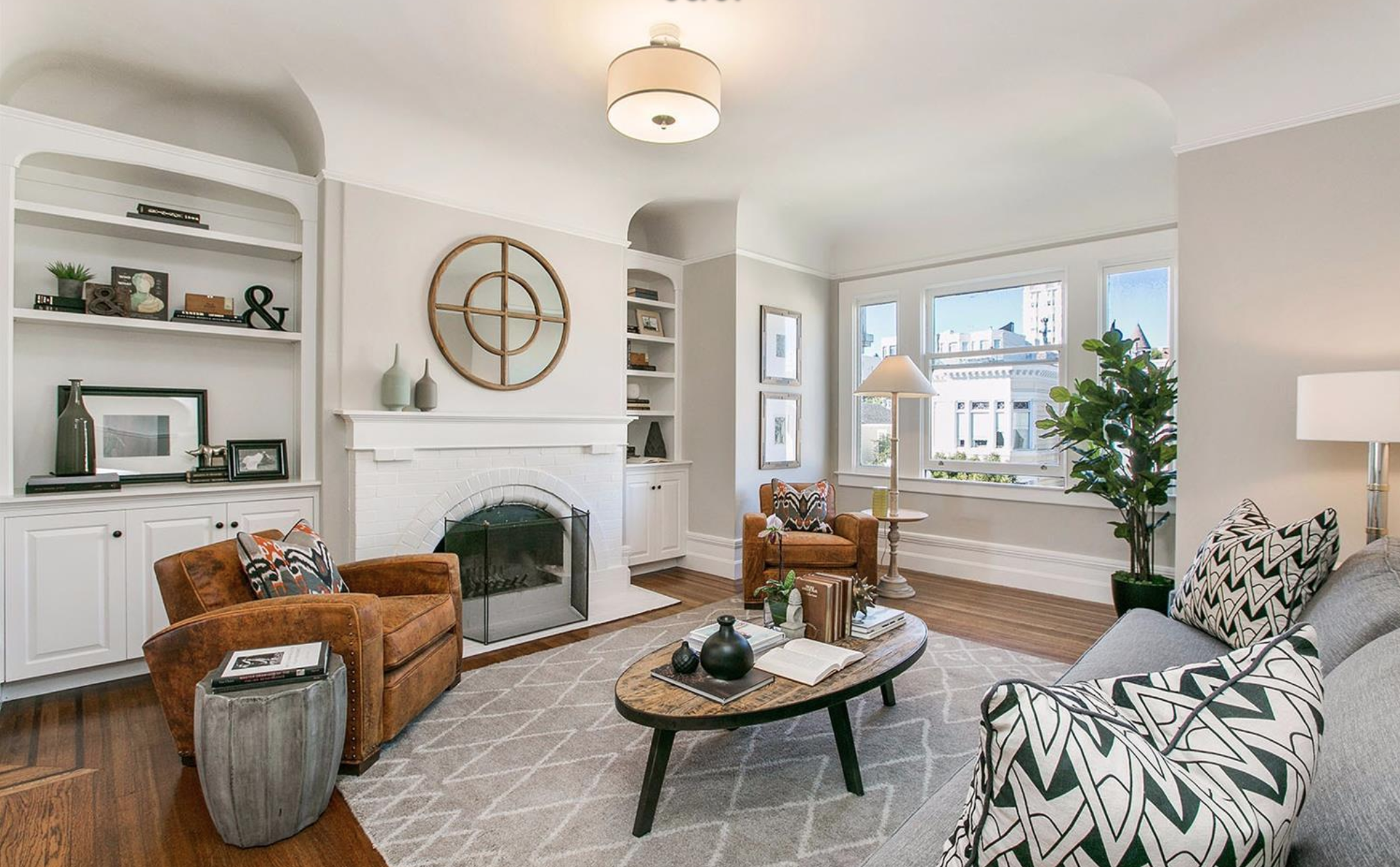 2539 Clay Street - Living Room