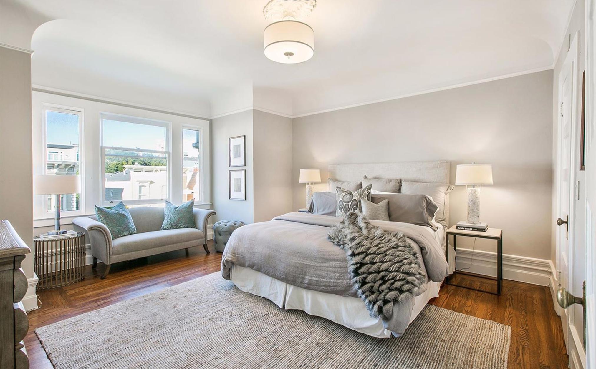 2539 Clay Street - Bedroom