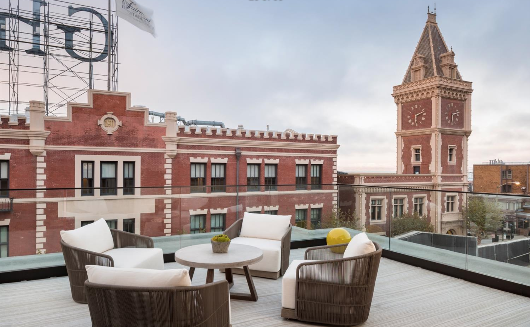 935 North Point Street - Patio View