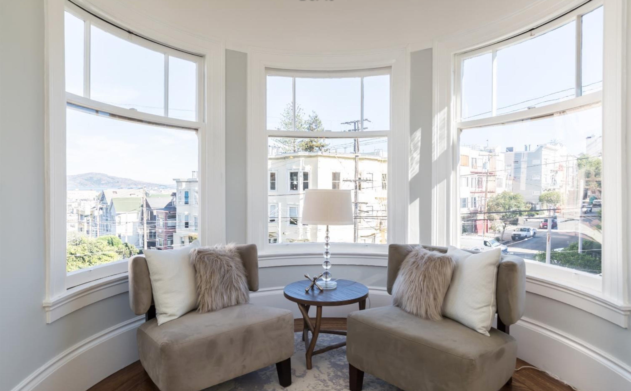 2859 Steiner Street - Victorian Windows