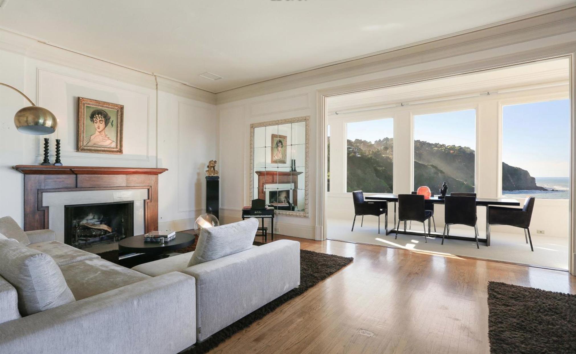 308 Sea Cliff Avenue - Living Room