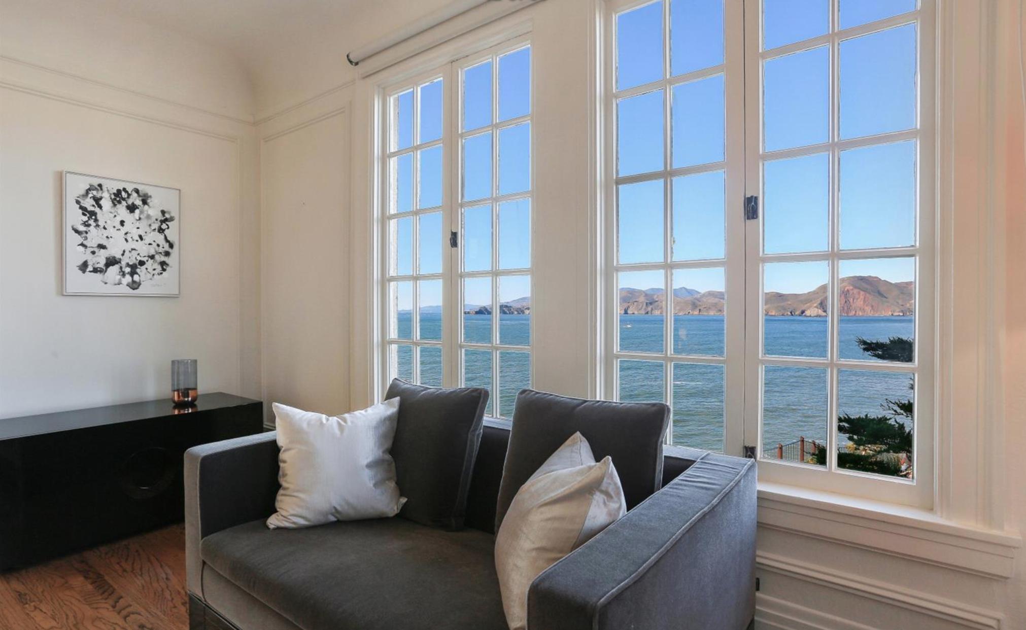 308 Sea Cliff Avenue - Master Bedroom Views