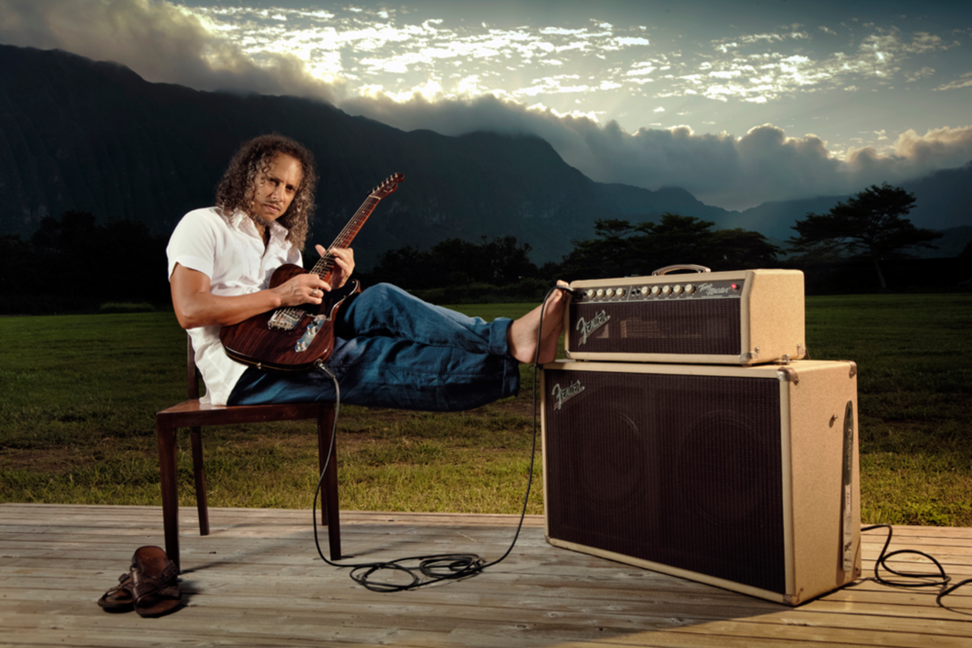 Kirk Hammett - Metallica House San Francisco